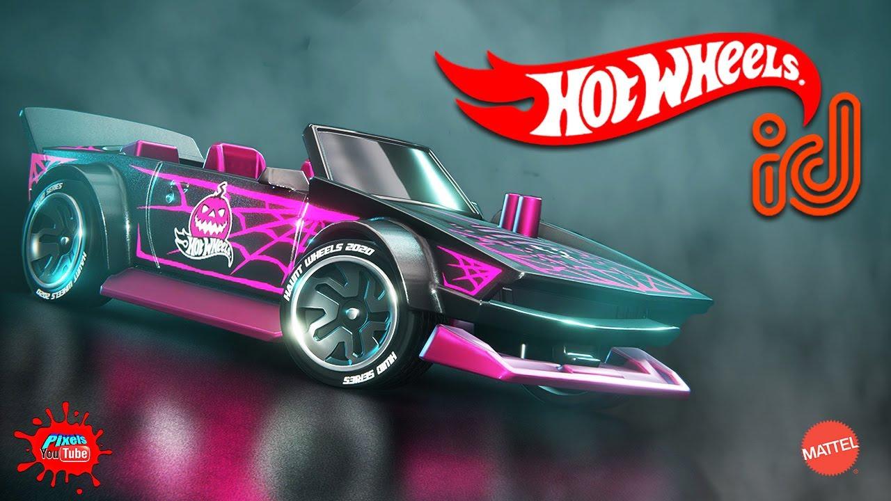 Hot Wheels ID Halloween Challenge Tarantula Manga