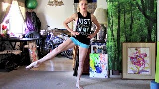 Lean, Long Legs Fitness Home Workout With Coach Meggin!