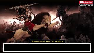 Aigiri Nandini With Lyrics 2 Mahishasura Mardini Stotra
