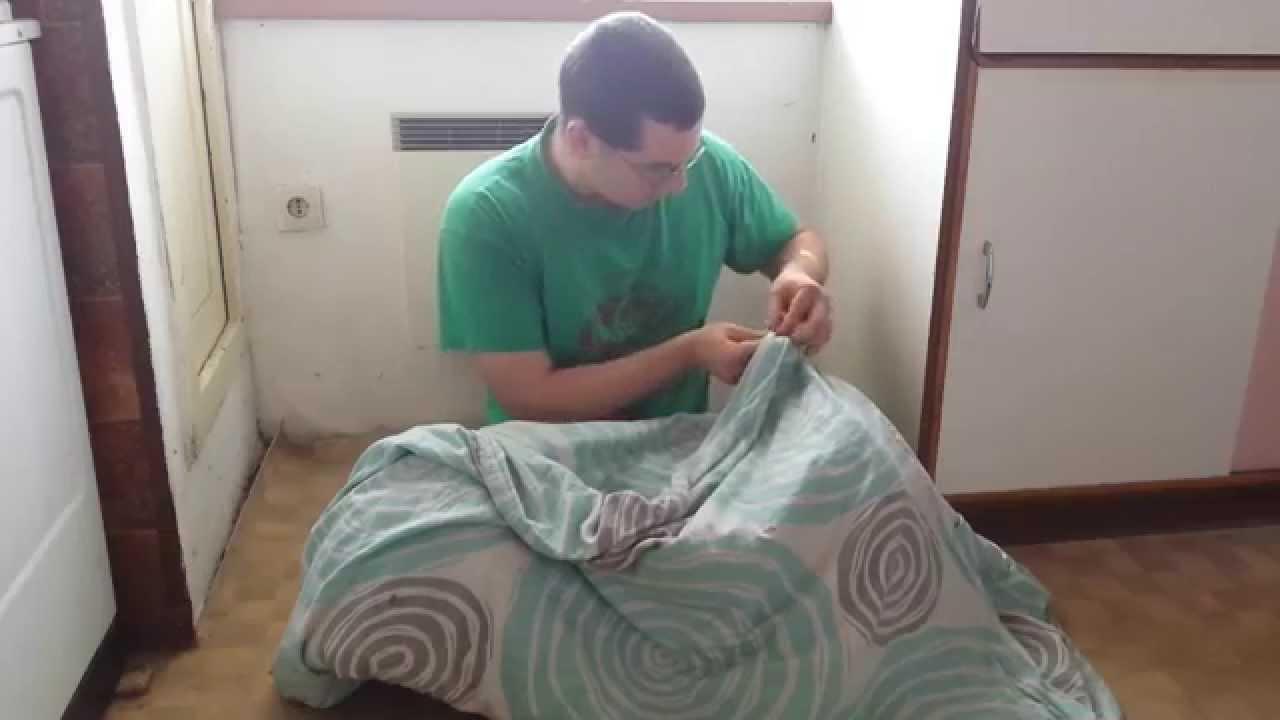 bettdecke f r den sommer cold tricks blanket for the summer youtube. Black Bedroom Furniture Sets. Home Design Ideas