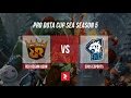 Pro Dota Cup SEA 5 - Rex Regum Qeon (Indonesia) vs EVOS (Indonesia) @Melon @Pasta @BenetzBAU