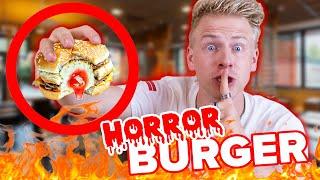 McDonalds PRANK - HORROR BURGER ! 😱 - TOP 5 Fast Food PRANKS II RayFox