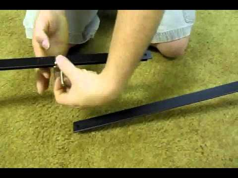 how to put a metal bed frame together 2