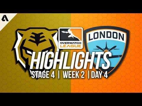 Seoul Dynasty vs London Spitfire | Overwatch League Highlights OWL Stage 4 Week 2 Day 4