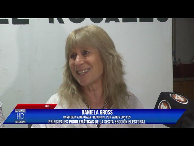Daniela Gross  Sadi Gelos  Conferencia de Vamos con Vos