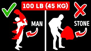 Why You Can Lift 100-lb Person But Not 100-lb Rock