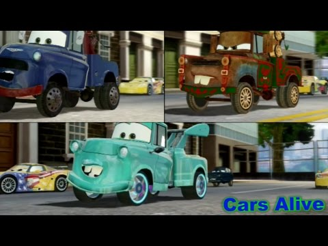 Cars 2 The Video Game 3 Maters Race On Hyde Tour Youtube