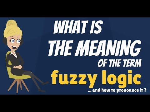 What's the meaning of fuzzy logic?