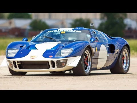 Old School Ford GT40 DESTROYS a Hellcat…Hell Yeah! - YouTube