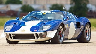 Old School Ford GT40 DESTROYS A Hellcat…Hell Yeah!