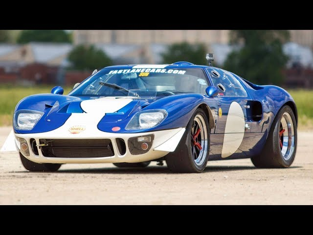 This Ford Gt May Be A Replica But It Can Still Waste A Dodge Charger Hellcat