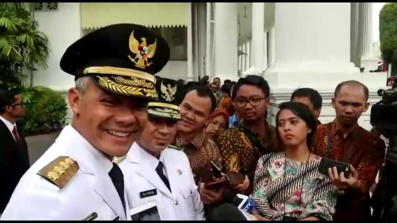Ganjar Pranowo Siap Jadi Juru Kampanye Jokowi Maruf Amin