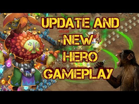 New Update | New Hero Plant Warrior Gameplay | New HBM AJ Gameplay | Castle Clash