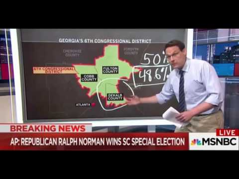 MSNBC's Maddow Suggests Bad Weather to Blame for Jon Ossoff Loss