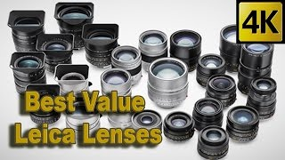 BEST VALUE LEICA LENSES - LEICA REVIEW