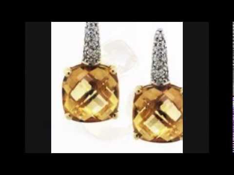 Yellow Citrine Jewelry YouTube