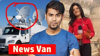 Why News Channel Have Special Truck/Van with Dish Antenna