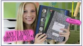 Back to School: Supplies Haul 2014!!! Thumbnail
