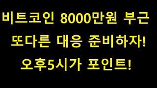 비트코인 급등 및 전고점 부근 - 8000만원 돌파가능성