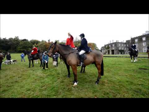 Tally-ho! Shropshire Hunt's First Meet Of Year