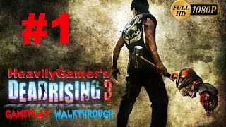 Dead Rising 3 PC Gameplay Walkthrough Part 1:Dead End-Plane Crash (Millions of Zombies)