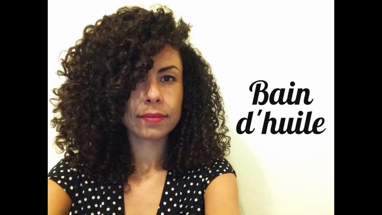bain d 39 huile de coco 100 naturel pour cheveux boucl s youtube
