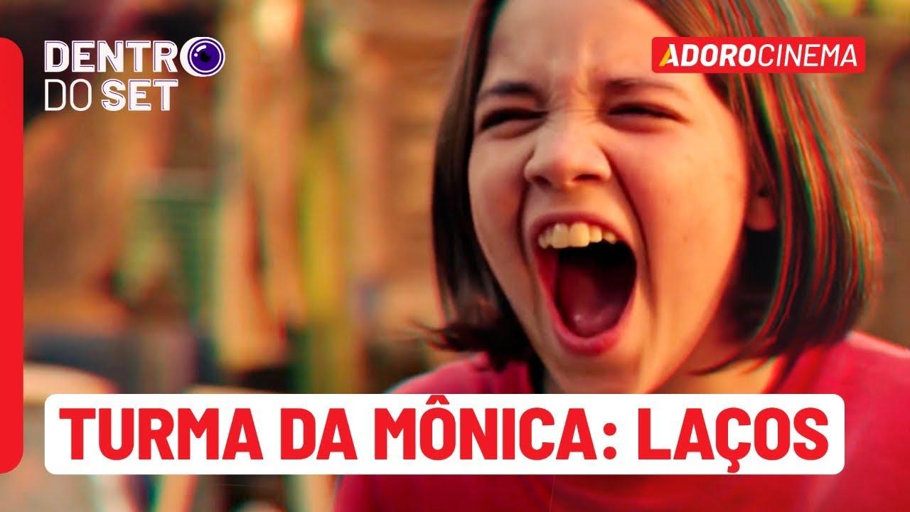 Visitamos o set de gravação do filme Turma da Mônica: Laços