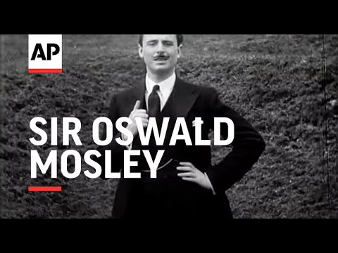 Sir Oswald Mosley Speaks on Unemployment.  The Cause of His Resignation.