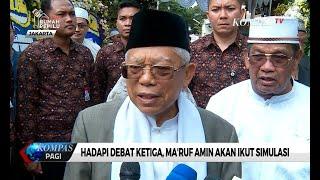 Download Video Ma'ruf Amin Mengaku Sangat Siap Hadapi Debat Ketiga Cawapres MP3 3GP MP4