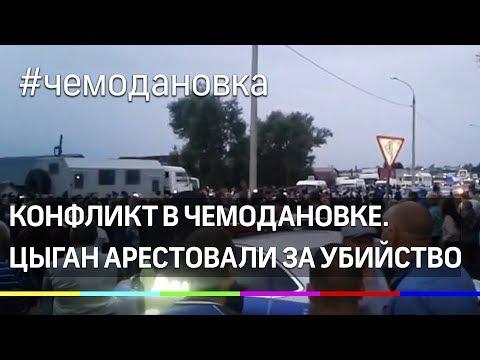 В Чемодановке начались задержания цыган - виновников конфликта