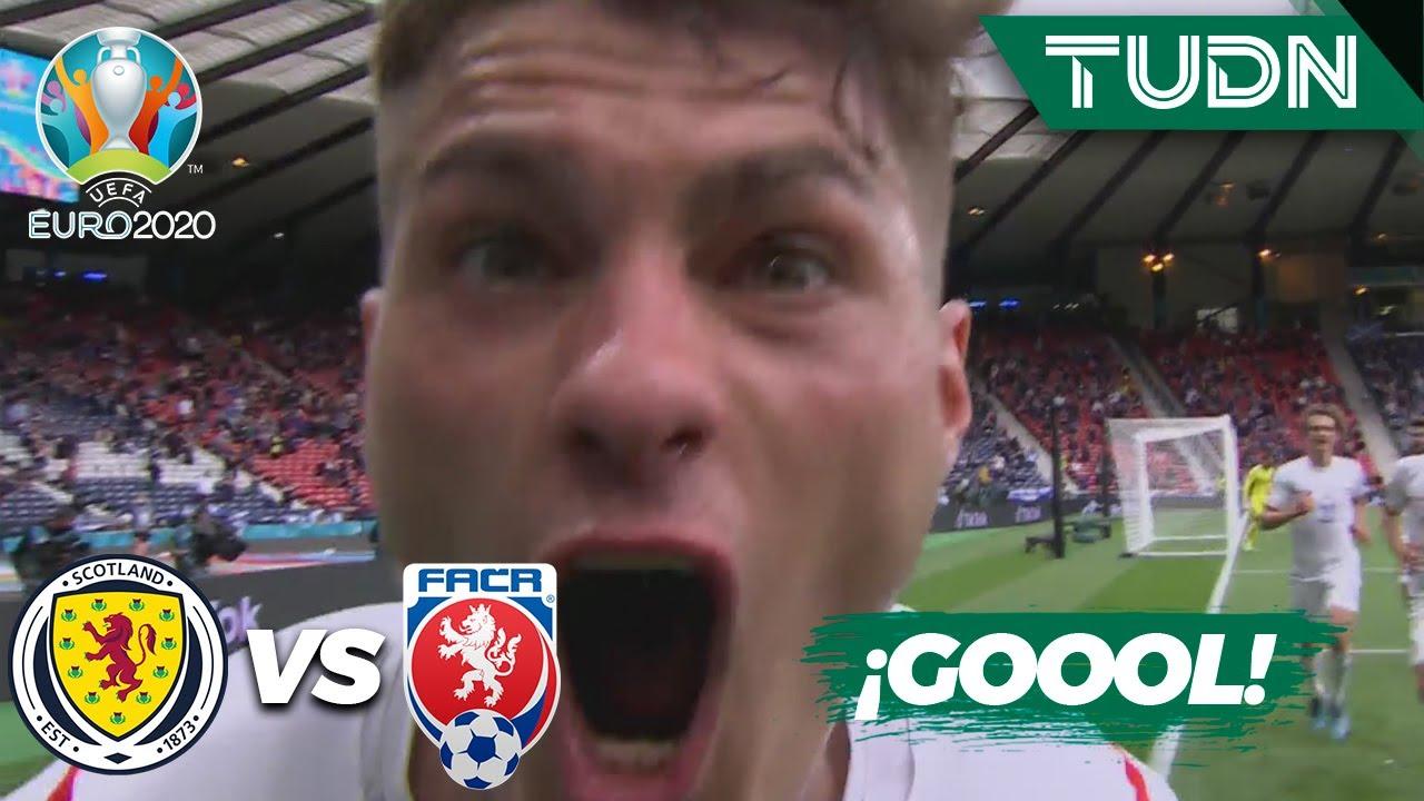 ¡GOOL! Schick gana por arriba | Escocia 0-1 República Checa | UEFA Euro 2020 | Grupo D-J1 | TUDN