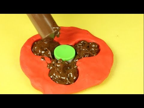 Thumbnail: DIY Chocolate Fidget Spinner and Haribo Spinner