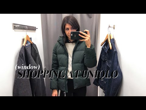 COME SHOPPING WITH ME AT UNIQLO - UNIQLO Try On + Review | Mademoiselle