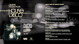 Dimitri From Paris In The House of Disco - Album Sampler