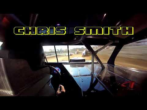 In Car Cam of Chris Smith at Belle-Clair Speedway 5-17-19