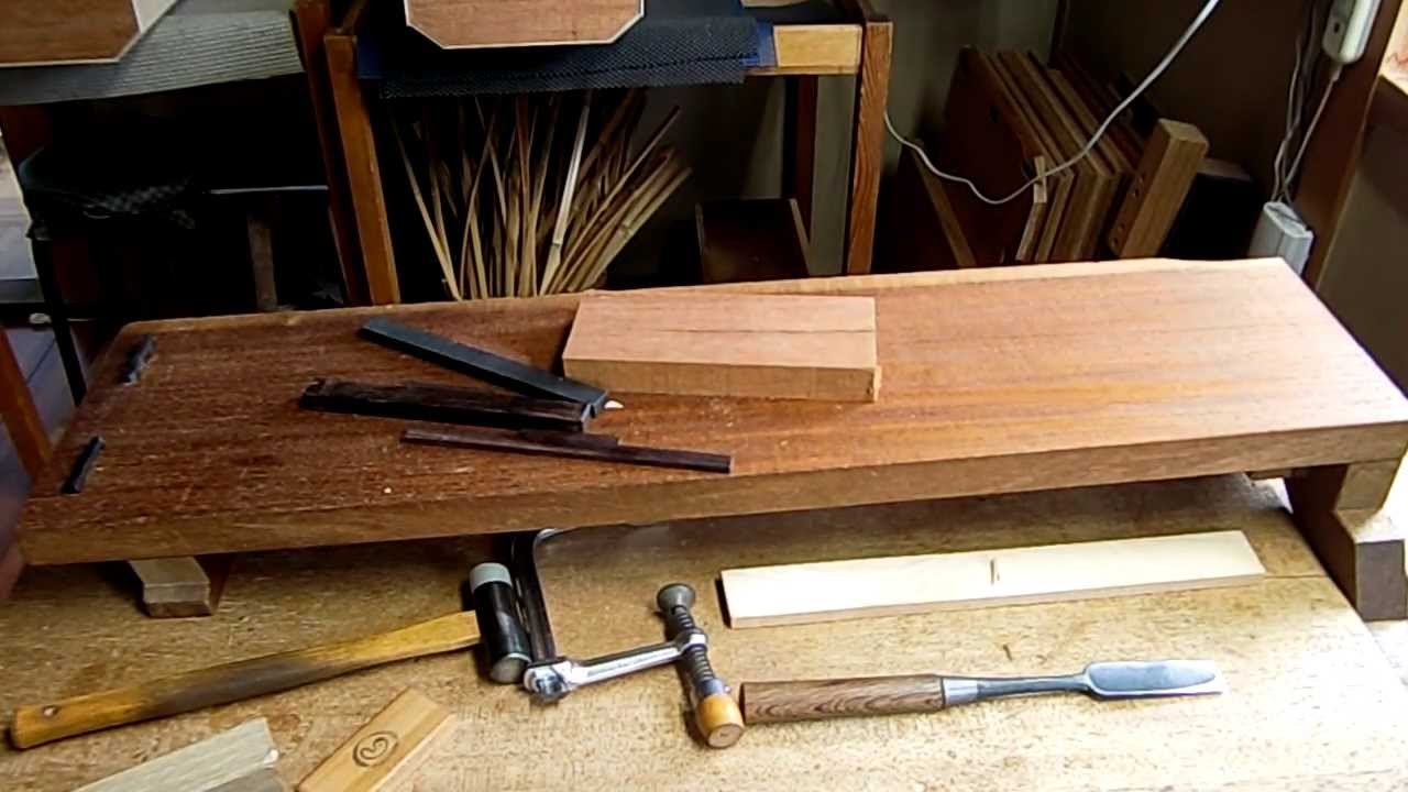 Demonstration video of the planing bench - YouTube