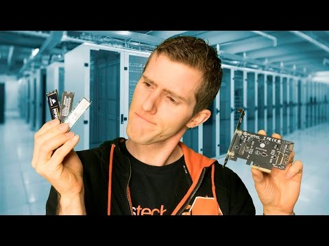 The FASTEST SSD Technology Explained - M.2, U.2, and MORE