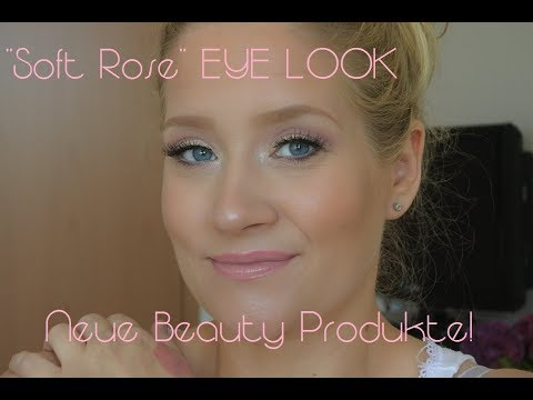 """""""Soft Rose"""" EYE LOOK // NEUE BEAUTY PRODUKTE // Dose of Colors & Anastasia Beverly Hills, BECCA etc. thumbnail"""