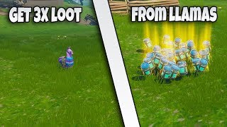 'NOUVEAU' COMMENT GET 3X THE LOOT FROM LLAMAS GLITCH FORTNITE BR GLITCH (EN)