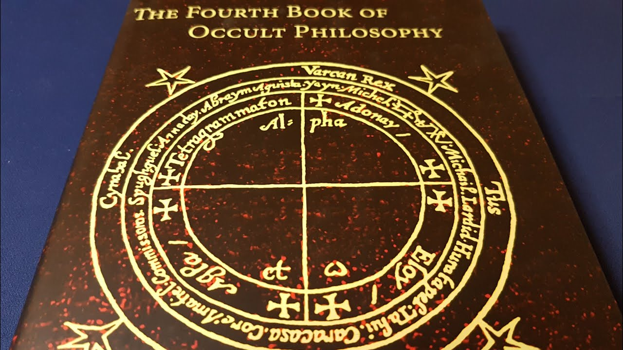 The Fourth Book of Occult Philosophy by Agrippa et al  + Dr Stephen Skinner  - Esoteric Book Review