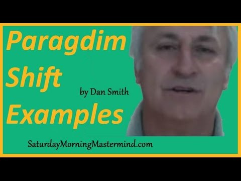 Paradigm Shift Examples How To Create A Paradigm Shift In Your Life