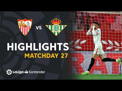 Sevilla Betis Goals And Highlights