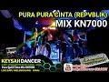 DJ KEYSAH PURA PURA CINTA (REPVBLIK) MIX KN7000 BREAKBEAT 2018 BULAN 10 DJ MDR KEYSAH DANCER