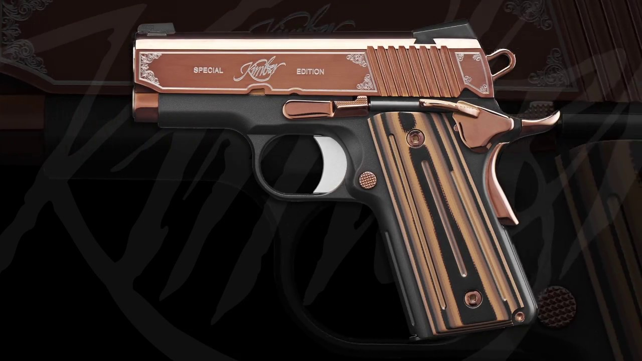 Kimber Rose Gold Ultra II 1911 Pistol - SHOT Show 2017 Introduction