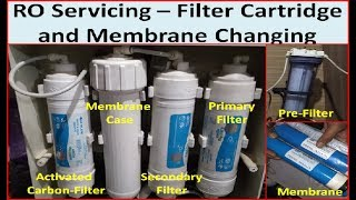 Servicing of KENT RO | How to Change/Replace Aquaguard RO Filter cartridge/Membrane at home