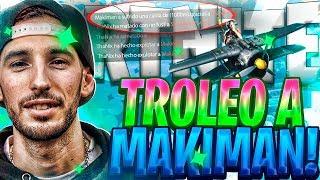 TROLLEO A MAKIMAN y a SU HERMANO en FORTNITE y ACABO LLORANDO de la RISA @ThaNix229