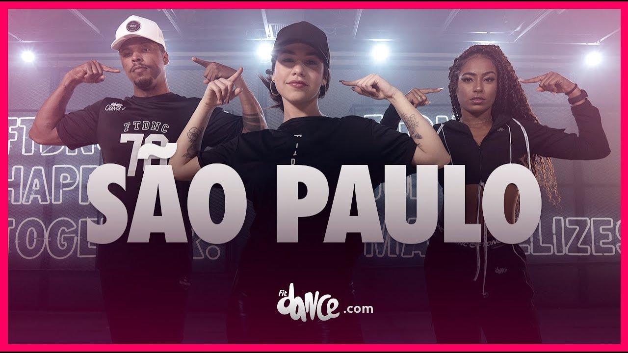 São Paulo  - Mc Mari e  Nyno Vargas | FitDance (Coreografia) | Dance Video