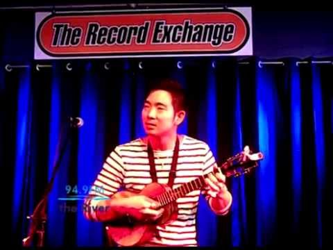 Jake Shimabukuro - Hi'ilawe (KRVB Acoustic at The Record Exchange)