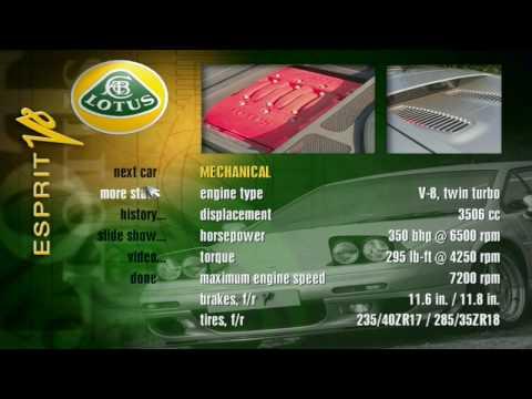 Need For Speed II SE - Lotus Esprit V8 Showcase