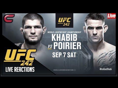 UFC 242 Khabib Vs Poirier Live Stream: Live Reaction Conman167